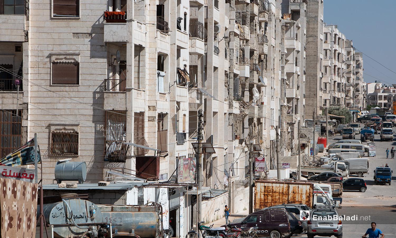 A street in Idlib city - 14 July 2020 (Enab Baladi - Anas al-Khouli)