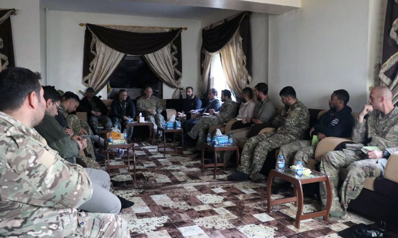 Commander-level meeting held by the SDF and the Global Coalition against Daesh (Syrian Democratic Forces)