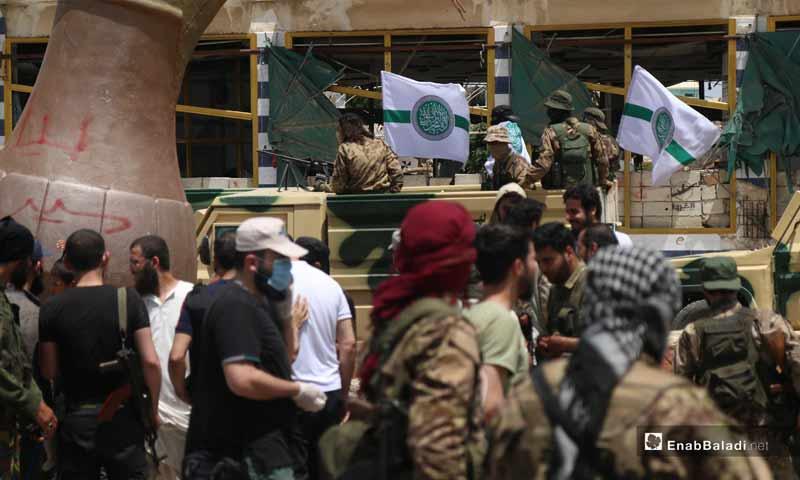 HTS fighters - 16 May 2020 (Enab Baladi / Youssef Gharibi)