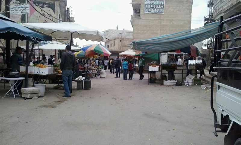 The Khan Eshieh Palestinian refugee camp in western Rif Dimashq ( Action Group for Palestinians of Syria)