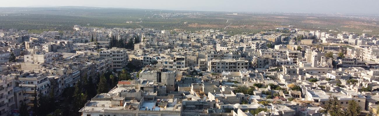 Ariha city in the southern countryside of Idlib - 23 September 2020 (Enab Baladi / Yousef Ghuraibi)