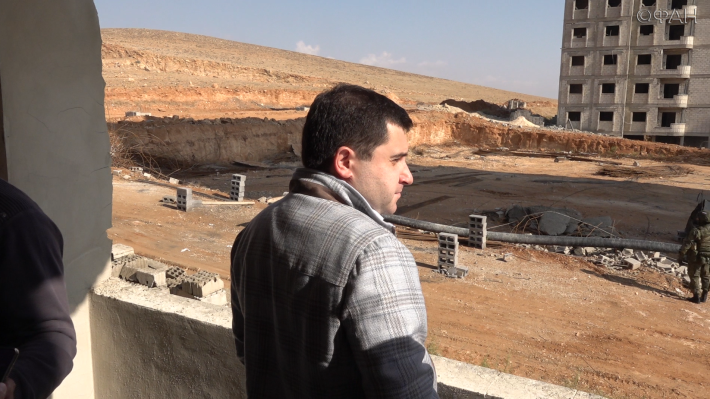 Russian delegation visits some Damascus suburbs to oversee residential reconstruction operation - 20 November 2020 (the Russian Federal News Agency (FAN)