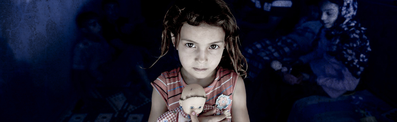 A Syrian refugee girl in Gaziantep, southern Turkey - 12 September 2015 (Afeinkolik Shutterstock)