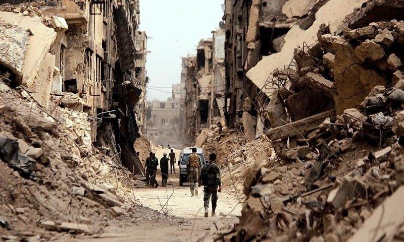 The Yarmouk camp (al-Watan newspaper)