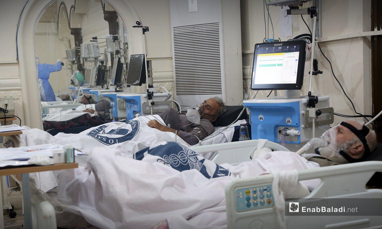 Elderly COVID-19 patients—18 October 2020 (Enab Baladi/Yousef Graibi)