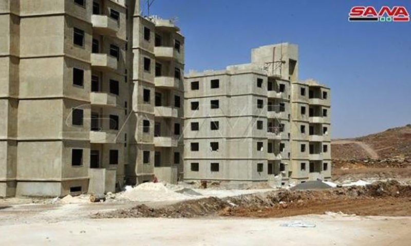 The alternative housing project in Aleppo governorate (SANA)