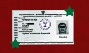 Khaled al-Halabi asylum-seeker (edited by Enab Baladi)