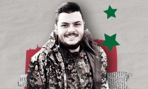 Syrian businessman Bassel George Haswani (Designed by Enab Baladi)