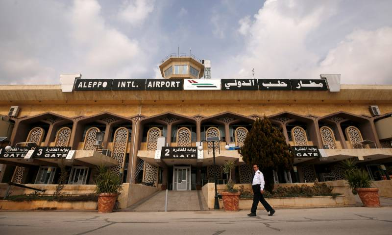 Aleppo International Airport (Reuters)