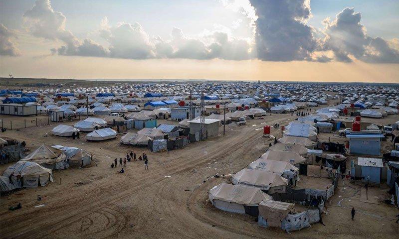 Al-Hol Refugee Camp (AFP)