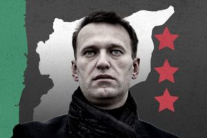 Russian opposition leader Alexei Navalny (Edited by Enab Baladi)