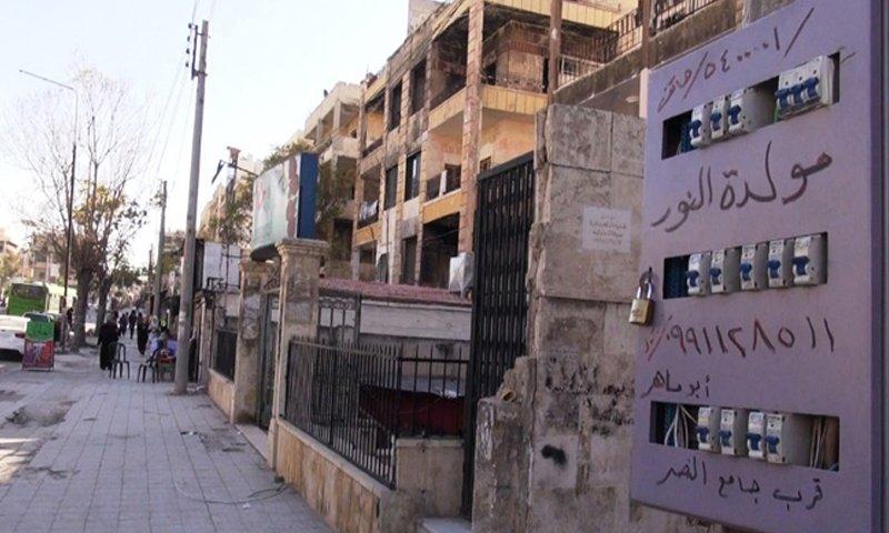 Power generator in Aleppo - 2018 (Athar Price)
