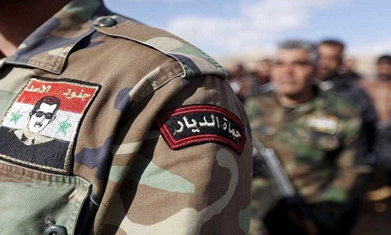 Members of the Syrian regime forces (al-Alam News Network)