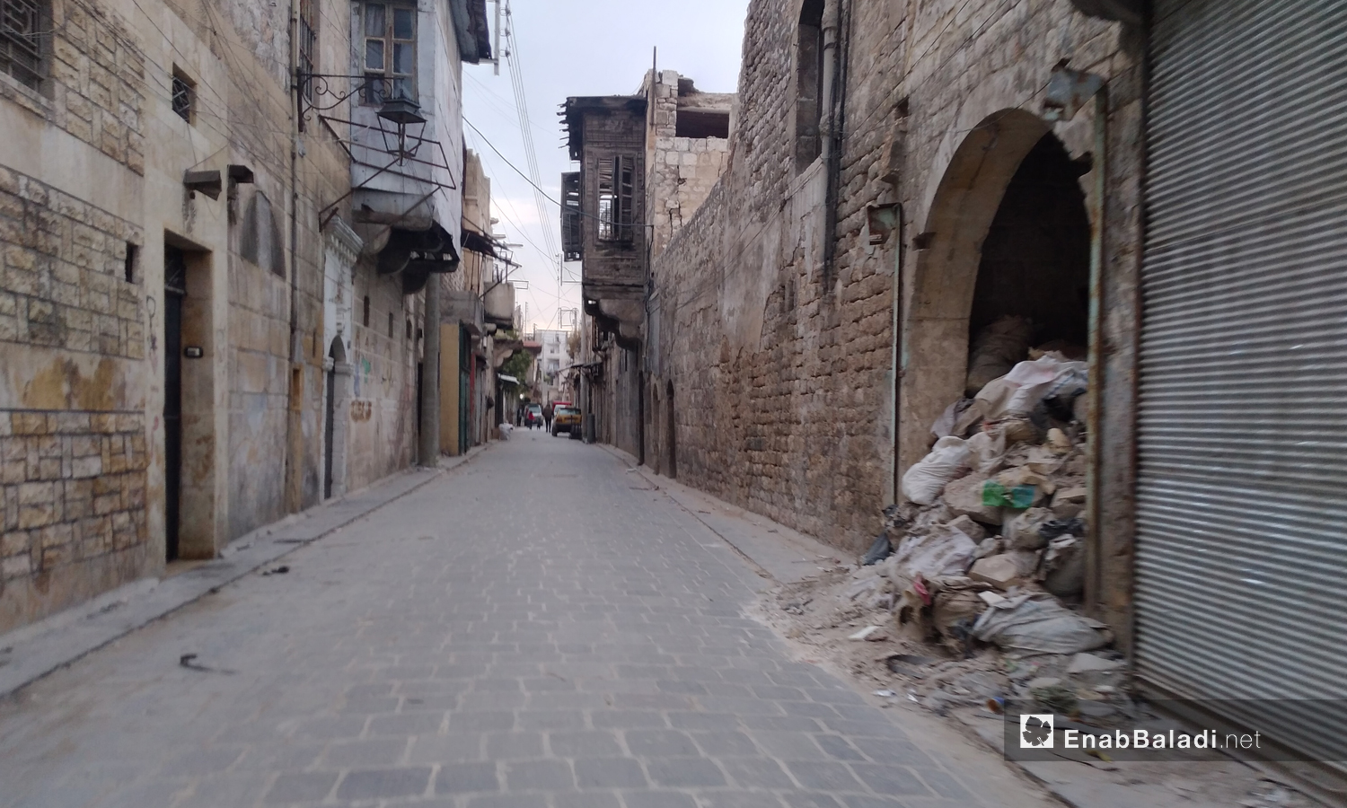 A street in the old city of Aleppo - 17 November 2020 (Enab Baladi)