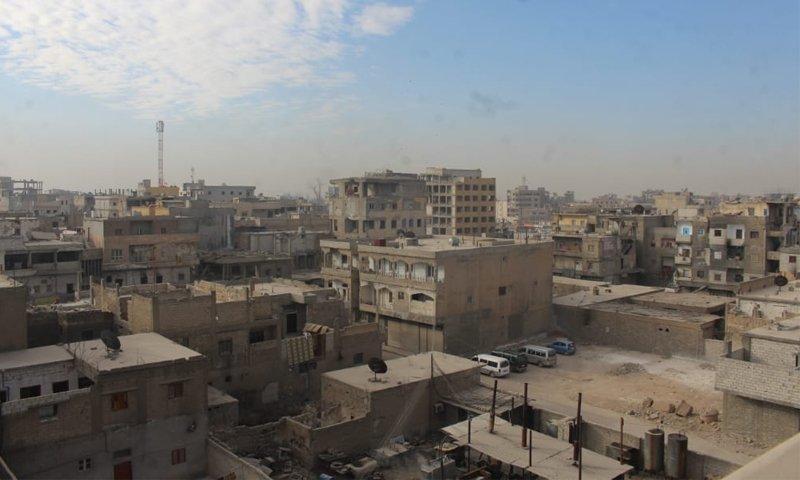 Residential buildings in al-Raqqa - 2020 (activists)