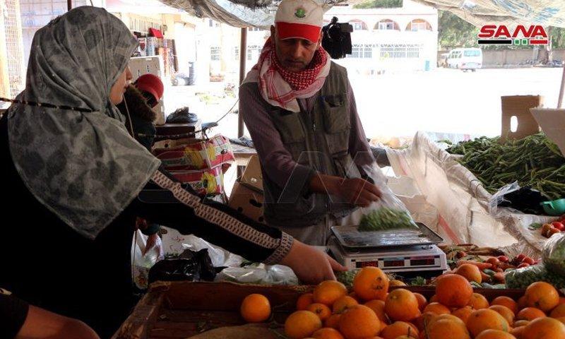 Oranges in Daraa markets - May 2020 (SANA)