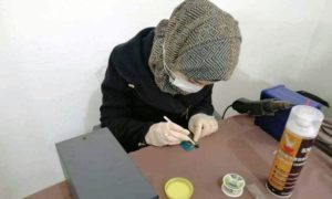 A training course for women on mobile phones maintenance in Idlib city - 08 December 2020 (A Glimpse of Hope organization)
