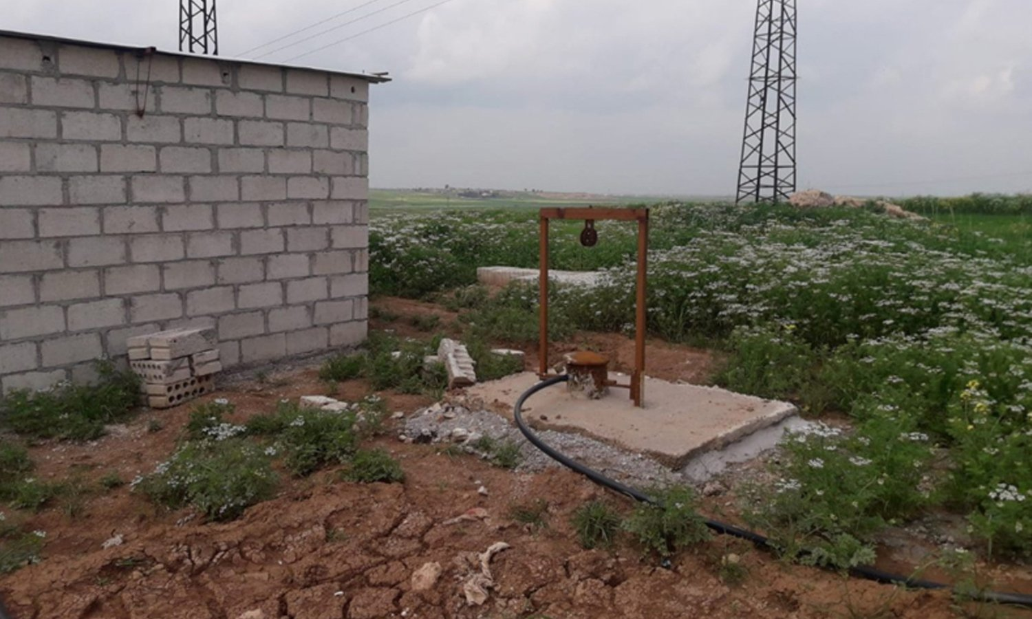 A farm in the countryside of al-Hasakeh- April 2019 (Mercy Hands for Humanitarian Aid)