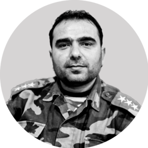 Defector Colonel Abdulsalam Abdulrazaq An SNA commander