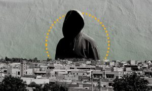 A snapshot of Raqqa city (Edited by Enab Baladi)