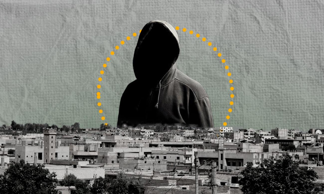 A snapshot of Raqqa city (Edited by Enab Baladi)