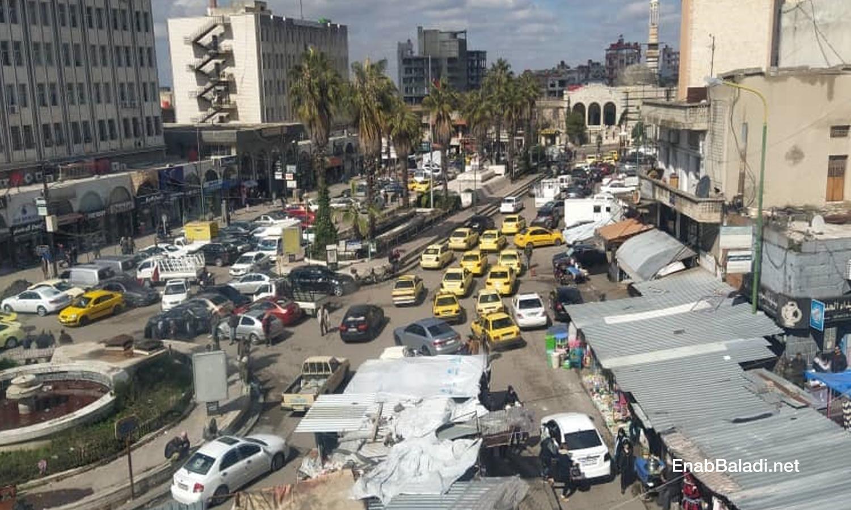 As-Suwayda city, the al-Seir Square - 26 February 2021 (Enab Baladi)