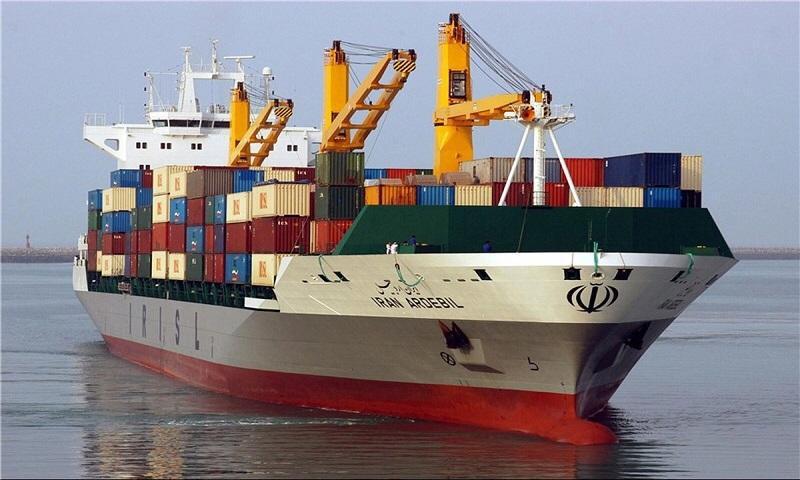 Container ship Iran Ardebil (Fars News Agency)