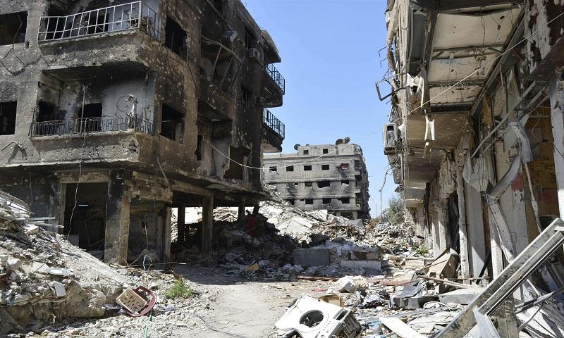 The Yarmouk camp (NBC News)