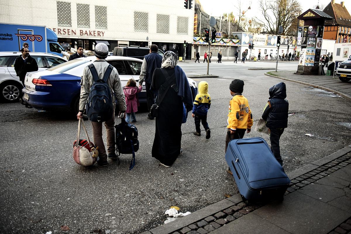 Syrian refugees at risk of deportation in Copenhagen, Denmark - November 2015 (Simon Læssøe / Ritzau Scanpix)