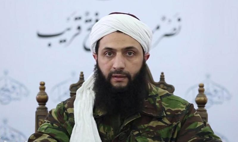 HTS commander-in-chief Abu Mohammad al-Golani