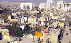 Slums in the al-Mezzeh neighborhood in Damascus (Internet)