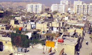 Slums in the al-Mezzeh neighborhood in Damascus (Internet)