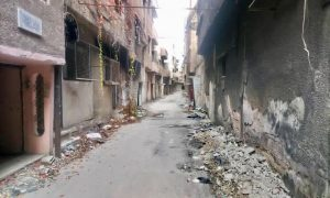 The Yarmouk camp, 21 November 2020 (The Action Group for the Palestinians of Syria)