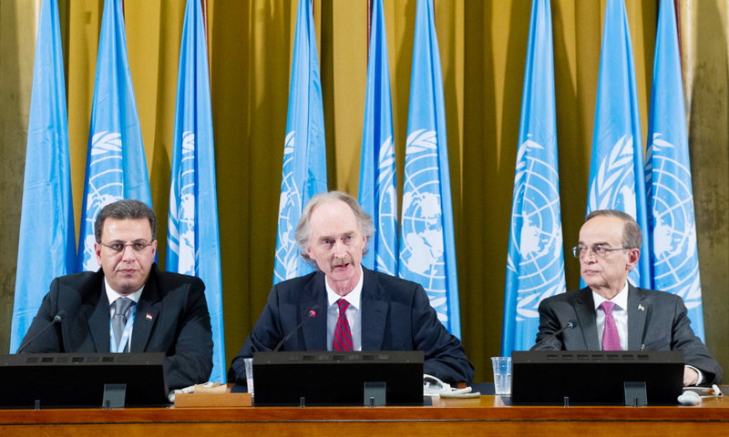 The Syrian Constitutional Committee's meeting held on 30 October 2019 (United Nations)