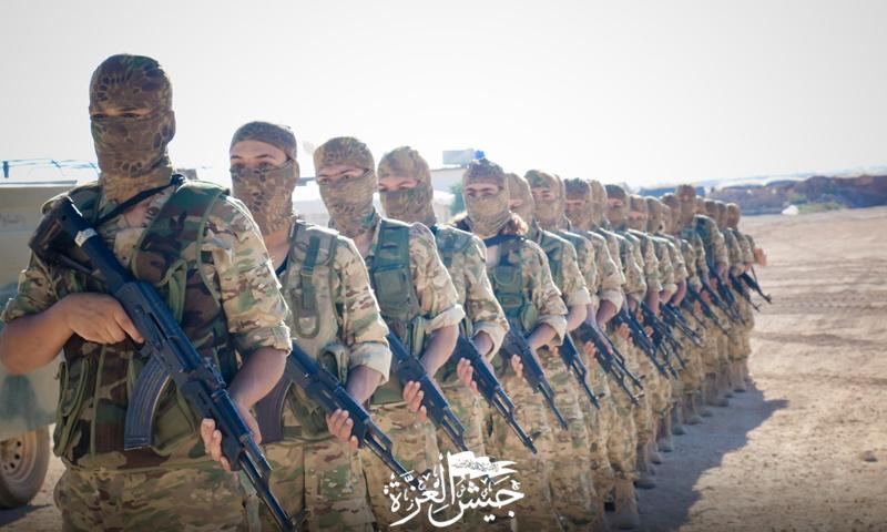 Military training of Jaysh al-Izza (Army of Glory) — 16 July 2020 (Jaysh al-Izza)