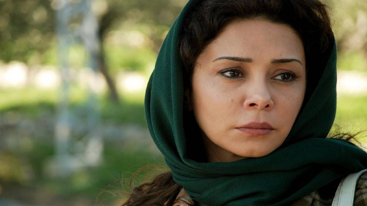 Syrian actress Caresse Bashar, a shot from drama series See You Tomorrow - (2015)