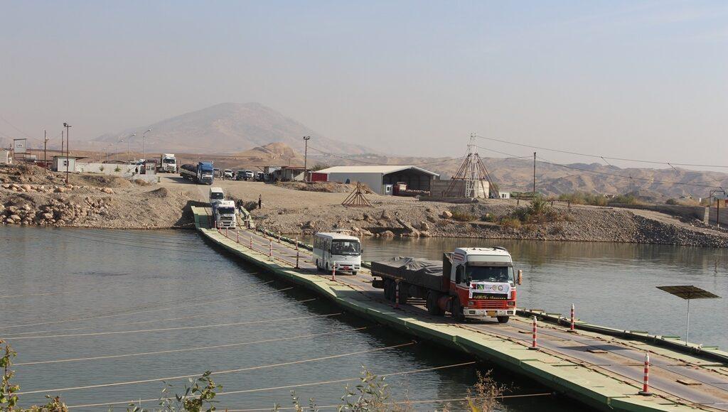 Syria-Iraq Semalka Border Crossing (Ronahi)