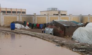 Deteriorating humanitarian conditions in the displacement camp of Dabiq in the northern countryside of Aleppo - 14 December 2019(Enab Baladi)