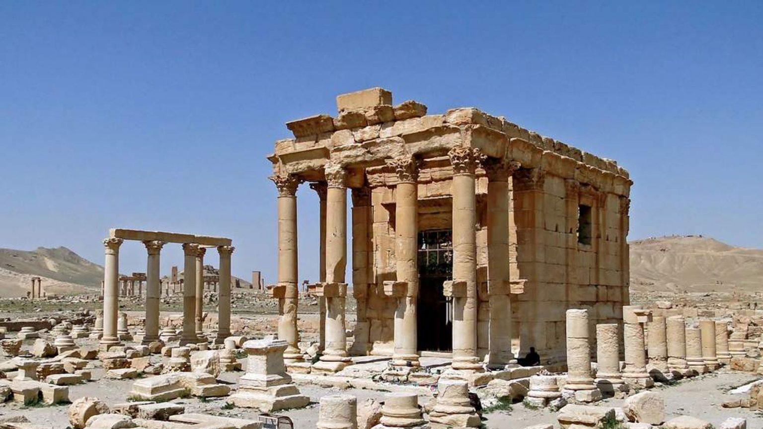Temple of Bel-Shamin in Palmyra – 2016 (TASS)