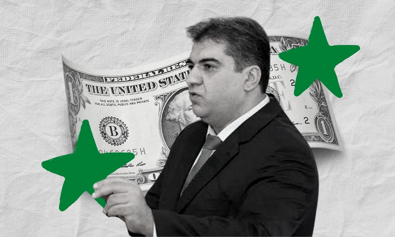 Central Bank of Syria governor Mohammed Issam Hazima (edited by Enab Baladi)