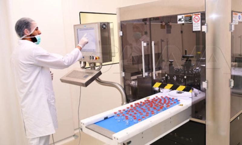 Drug factory in Syria (SANA)