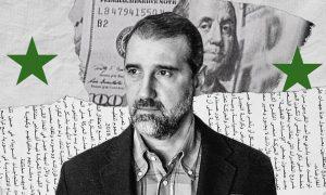 Syrian businessman and Bashar al-Assad's maternal cousin Rami Makhlouf (edited by Enab Baladi)