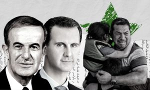 Hafez and Bashar al-Assad (Edited by Enab Baladi)