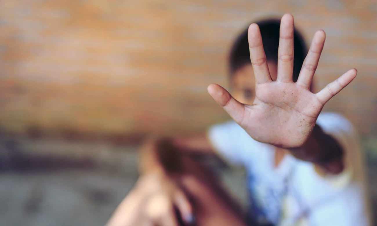 Violence against children (Shutterstoch).
