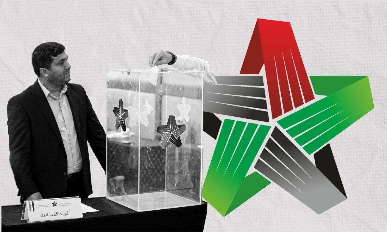 Elections of the Syrian National Coalition's president and members of Political Committee (Edited by Enab Baladi)