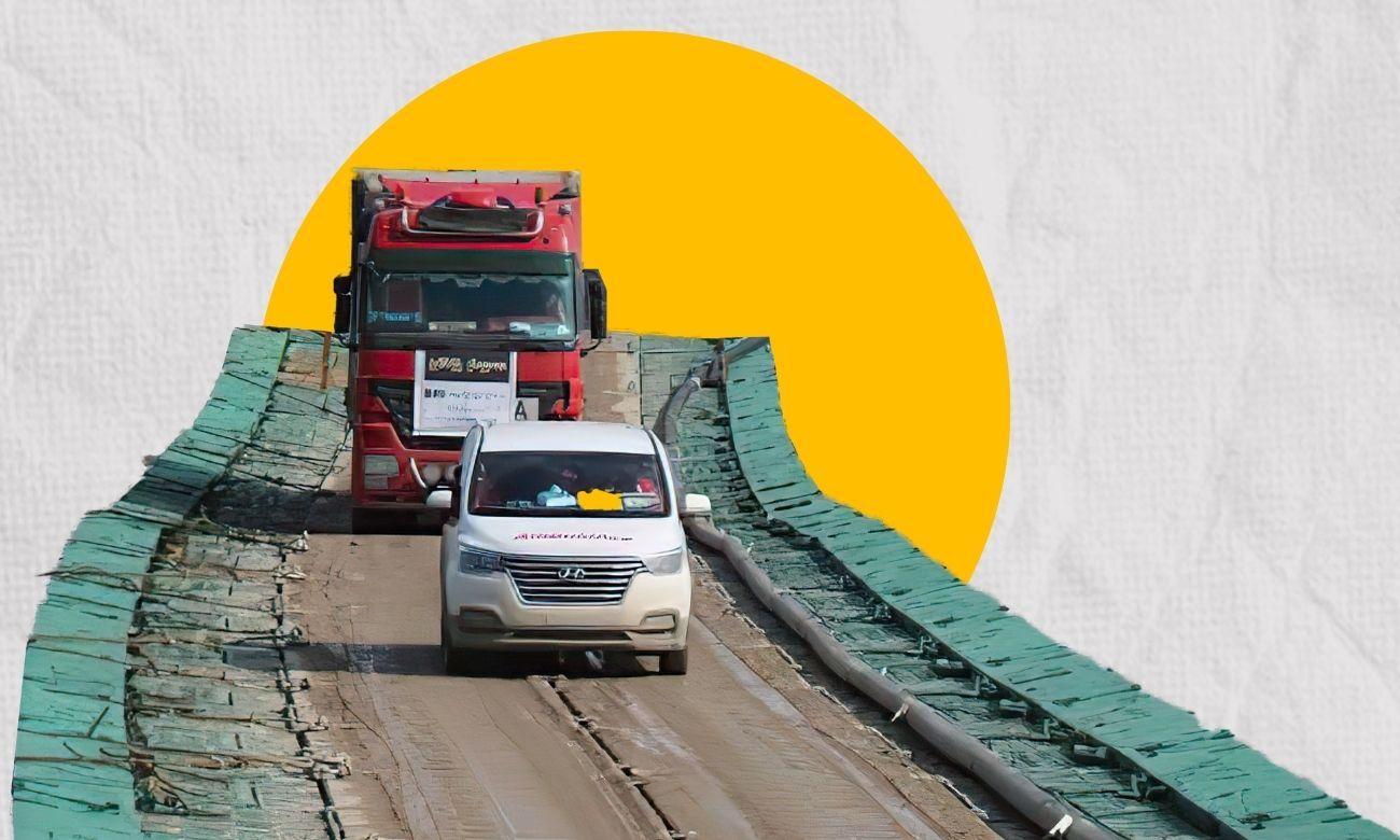 Semalka Border Crossing (North Press/Edited by Enab Baladi)