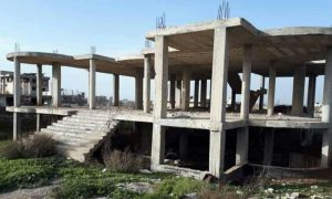 A property offered for sale in Daraa governorate, southern Syria - 2 January 2021 (Daraa Real Estates Facebook account)