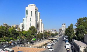 Four Seasons Hotel in Damascus (Waseelatv)