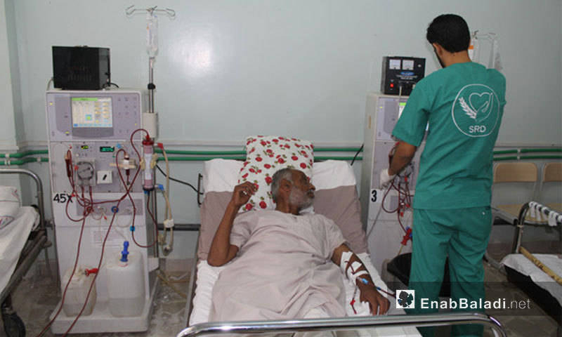 Kidney dialysis center in Akhtarin Hospital in the northern countryside of Aleppo - 19 August 2017 - (Enab Baladi)