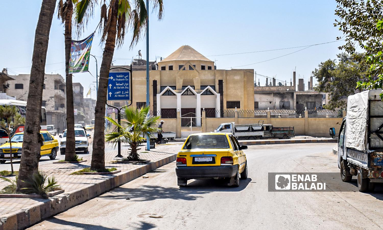 The Armenian Catholic Church of the Martyrs in Raqqa